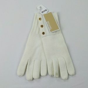 Micheal Michael kors gloves white new mittens